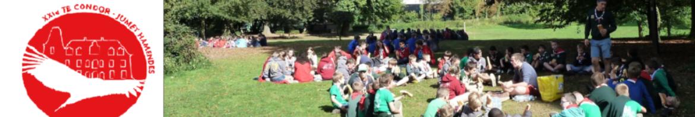 Les scouts de la 021 TE CONDOR - Jumet Hamendes